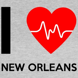 I Love New Orleans - jeg elsker New Orleans - Dame-T-shirt