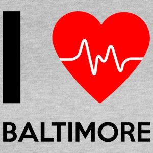 I Love Baltimore - Ich liebe Baltimore - Frauen T-Shirt