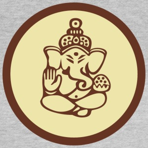 Ganesha Om Yoga India Gud Elephant - T-skjorte for kvinner