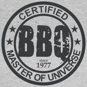 Certificeret BBQ Master 1977 Grillmeister - Dame-T-shirt