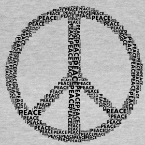 PEACE statement design - Women's T-Shirt