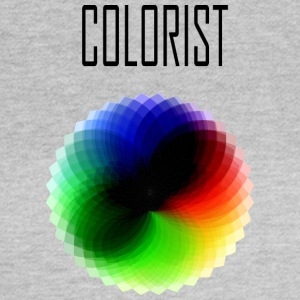 Colorist color wheel - Women's T-Shirt