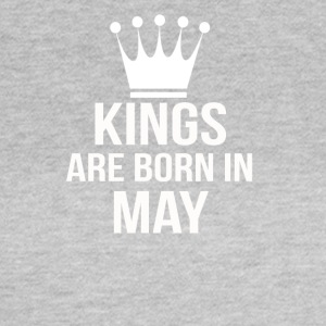 kings are born in may - Frauen T-Shirt