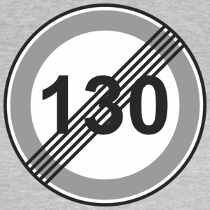 Signe de la route 130 de restriction - T-shirt Femme