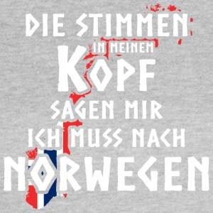 Norwegen / Norway / Reisen - Frauen T-Shirt