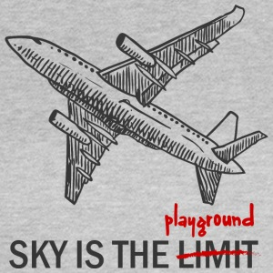 Pilot: Sky is the Limit or the Playground - Women's T-Shirt