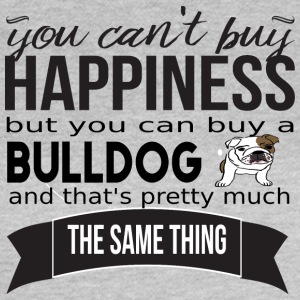 you cant buy happiness bulldog - Women's T-Shirt