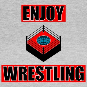 ENJOY_WRESTLING_RED_DesASD - T-shirt dam