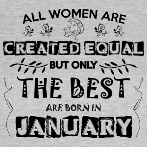 Woman Birthday January - Women's T-Shirt