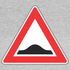 Road Sign Up triangle red - Women's T-Shirt