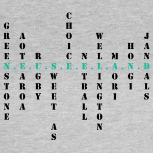 New Zealand Scrabble tuerkis - Women's T-Shirt