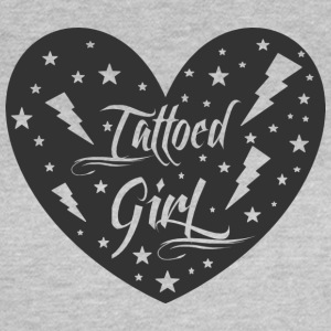 tattoed_girl - Vrouwen T-shirt