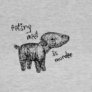 Eating meat is murder - Women's T-Shirt