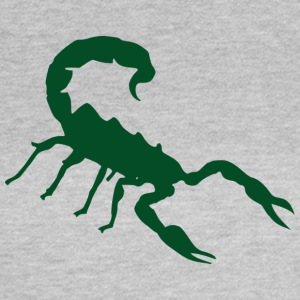 Scorpion grøn - Dame-T-shirt