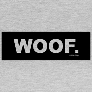 Woof urban.dog Svart - T-skjorte for kvinner