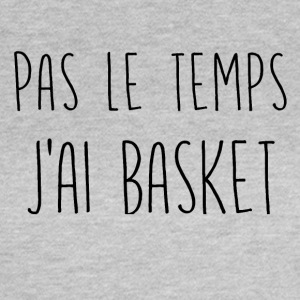 ingen tid basketball - Dame-T-shirt