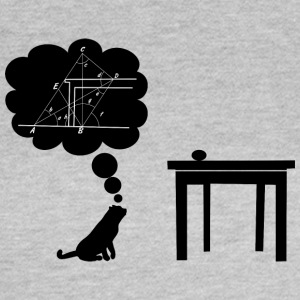 katt sciencest hoppning - T-shirt dam