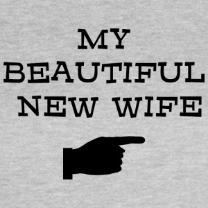 Just Married My Beautiful nya fru - T-shirt dam