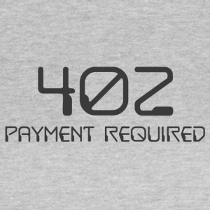 402- payment required dark - Women's T-Shirt