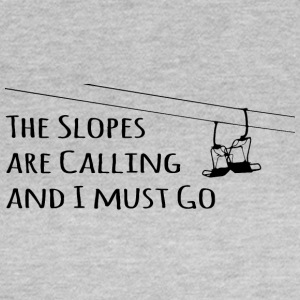 Slopes Calling - Frauen T-Shirt