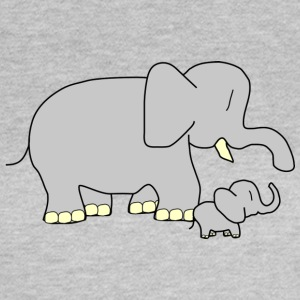 Sweet Elephants - Frauen T-Shirt