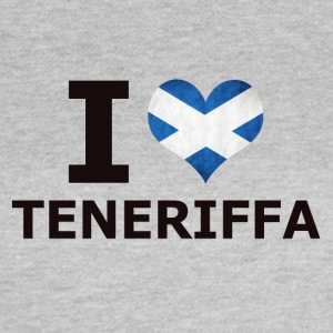 I LOVE Tenerife flag - Women's T-Shirt