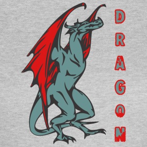 tall standign dragon färg - T-shirt dam