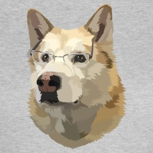 slimme hond - Vrouwen T-shirt