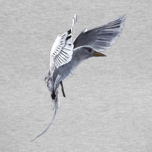 White Tail Tropical Bird - Women's T-Shirt