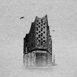 Around The World: Elbphilharmonie - Hamburg - Vrouwen T-shirt