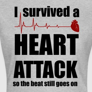 Heart attack - Women's T-Shirt