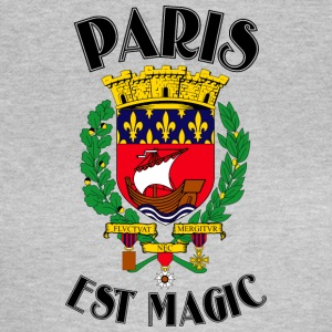 Paris Est Magic White - T-shirt Femme