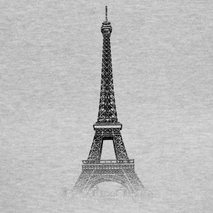 Around The World: Eiffeltårnet - Paris - Dame-T-shirt