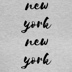 New York New York - T-skjorte for kvinner