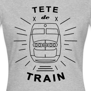 Tete_De_Train_Black_Aubstd - Vrouwen T-shirt
