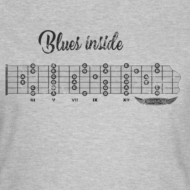 blues inside dark