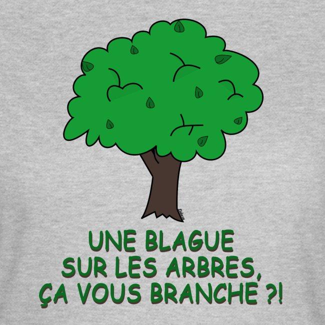 Blague sur les arbres