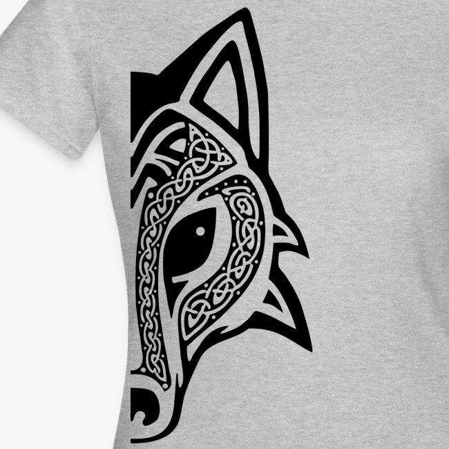 Celtic Wolf half
