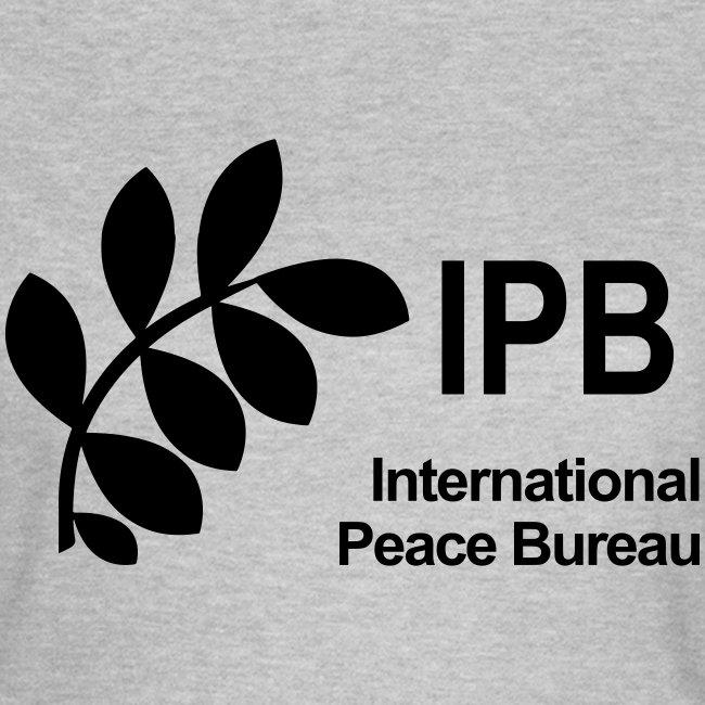 International Peace Bureau IPB Logo black