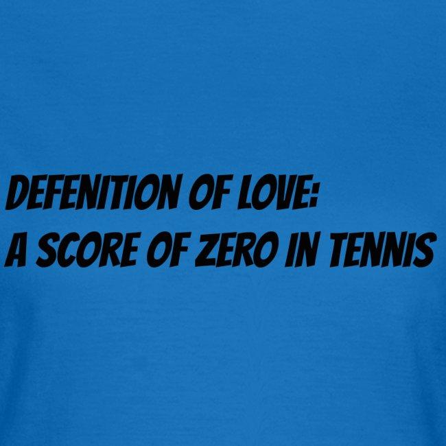 Tennis Love sweater women