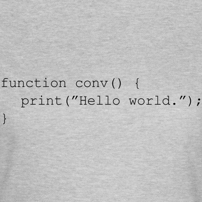 Conversation Function Black