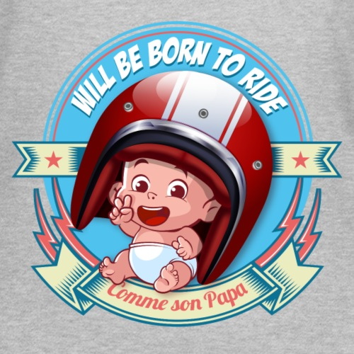 Will be born to ride - T-shirt Femme