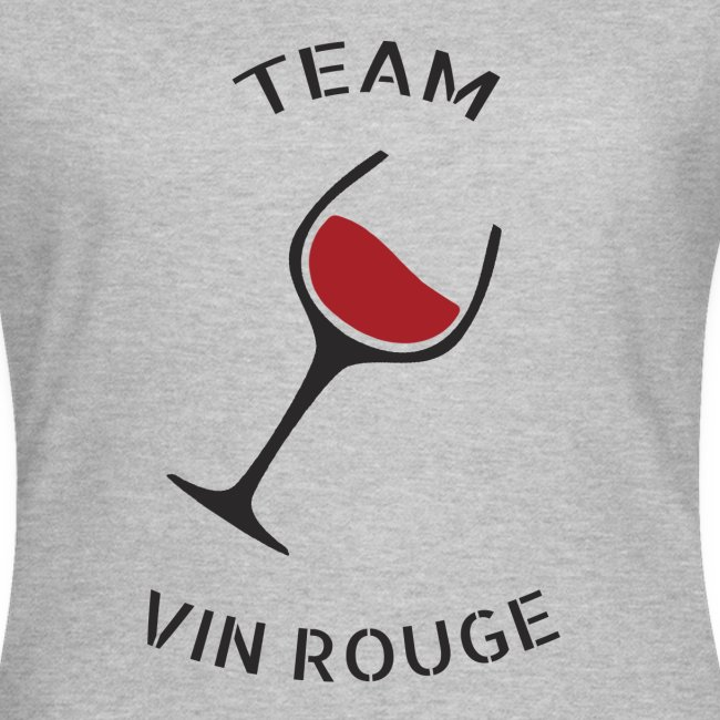 Team Vin Rouge - T-shirt