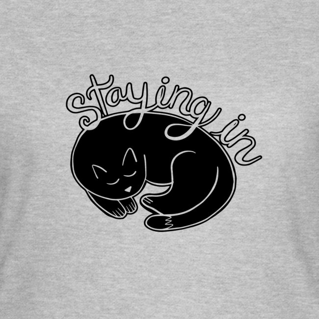 Cat staying in