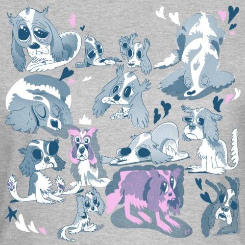 Plenty Cavalier King Charleses - T-skjorte for kvinner