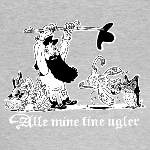 ALLE MINE FINE UGLER - T-skjorte for kvinner