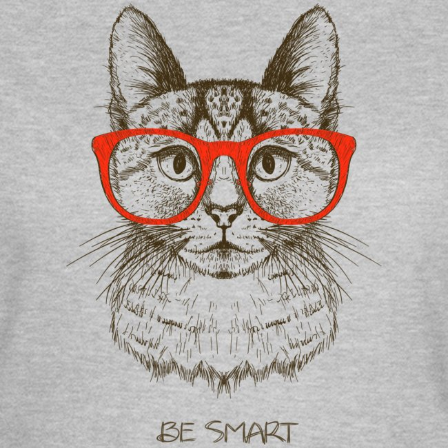 Cat Hipster - Frauen T-Shirt