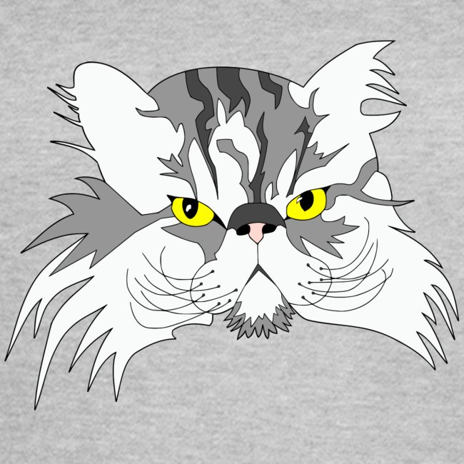 Katze - Chuck Norris - Theophil-Nerds