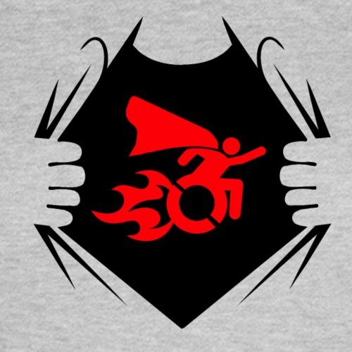 Shirt met afbeelding van super mens 001 - Vrouwen T-shirt