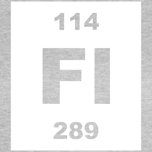 Flerovium (Fl) (element 114) - Women's T-Shirt
